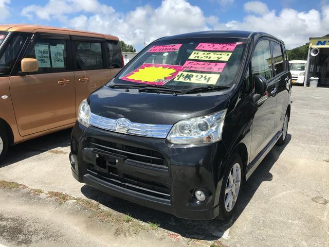 沖縄県の中古車ならムーヴ カスタム Xリミテッド ワンセグナビ バックモニター