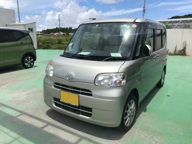 沖縄の中古車 ダイハツ タント 車両価格 42万円 リ済込 2012(平成24)年 8.3万km ゴールド