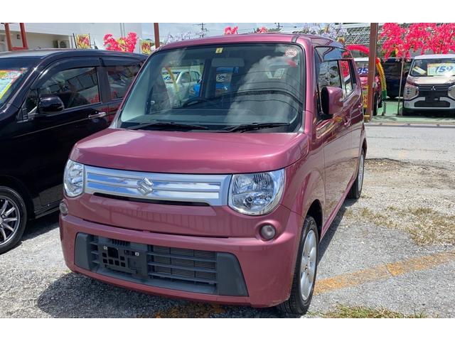 沖縄の中古車 スズキ MRワゴン 車両価格 41万円 リ済込 2012(平成24)年 3.9万km ピンク
