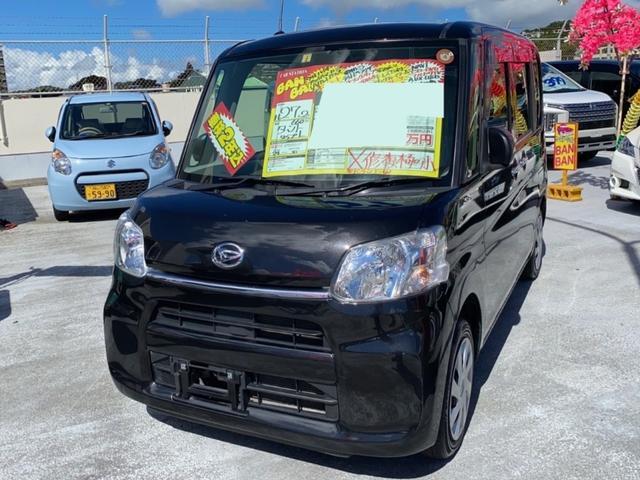 沖縄県の中古車ならタント L フルセグナビ ブルートゥース バックモニター アイドリングストップ