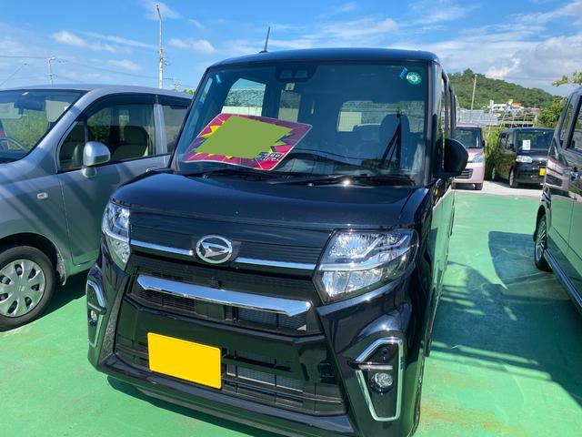 沖縄県の中古車ならタント カスタムXセレクション SAIII ブルートゥース 両側パワースライドドア バックモニター