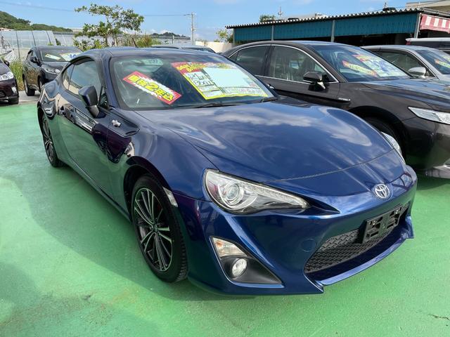 沖縄県の中古車なら86 GT マニュアル6速 追加メーター