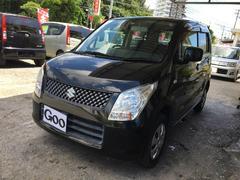 沖縄の中古車 スズキ ワゴンR 車両価格 33万円 リ済込 平成22年 11.9万K ブラック