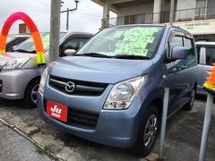 沖縄の中古車 マツダ AZワゴン 車両価格 33万円 リ済込 平成22年 8.0万K Lブルー