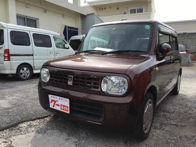 沖縄の中古車 スズキ アルトラパン 車両価格 37万円 リ済込 平成23年 10.9万km マルーンブラウンパール