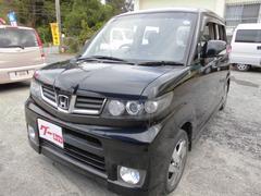 沖縄の中古車 ホンダ ゼストスパーク 車両価格 45万円 リ済込 平成22年 11.0万K ブラック