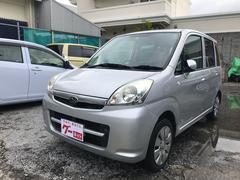 沖縄の中古車 スバル ステラ 車両価格 29万円 リ済別 平成22年 9.6万K シルバー