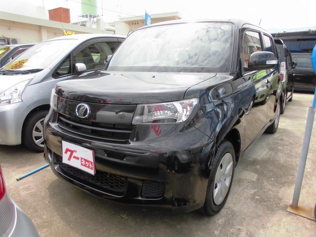 沖縄の中古車 トヨタ bB 車両価格 39万円 リ済込 平成22年 10.8万km ブラック