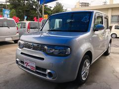 沖縄の中古車 日産 キューブ 車両価格 49万円 リ済別 平成26年 7.2万K シルバー
