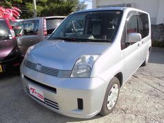 沖縄の中古車 ホンダ モビリオ 車両価格 18万円 リ済込 平成20年 11.0万K シルバー