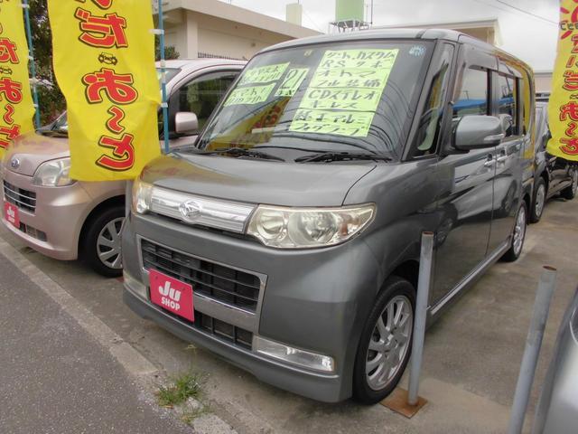 沖縄の中古車 ダイハツ タント 車両価格 43万円 リ済込 平成21年 9.5万km グレー