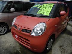 沖縄の中古車 日産 モコ 車両価格 33万円 リ済込 平成21年 6.4万K オレンジ