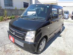沖縄の中古車 スズキ ワゴンR 車両価格 16万円 リ済込 平成19年 11.7万K ブラック