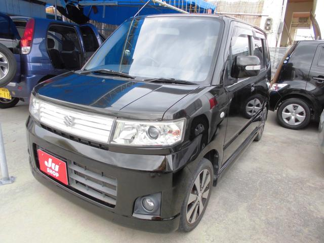 沖縄の中古車 スズキ ワゴンR 車両価格 29万円 リ済込 平成20年 8.2万km ブラック