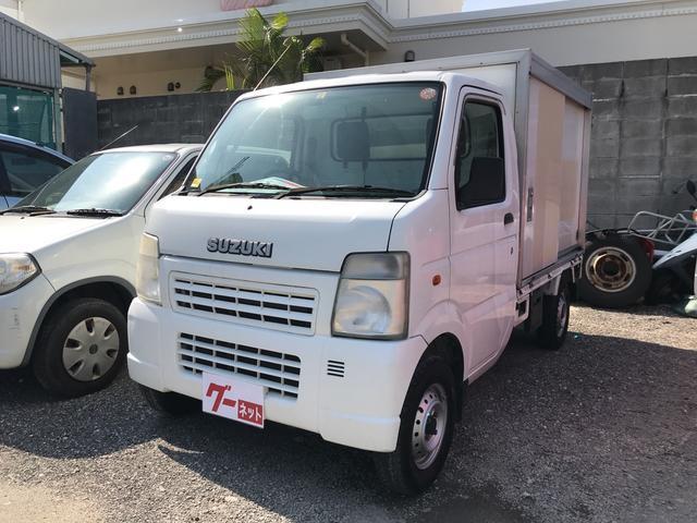 沖縄県の中古車ならキャリイトラック 保冷車 エアコン パワステ 運転席エアバック オートマ