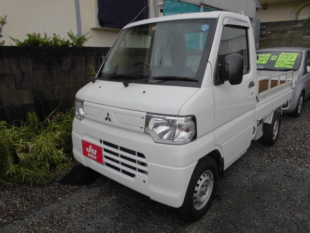 沖縄の中古車 三菱 ミニキャブトラック 車両価格 29万円 リ済込 2013(平成25)年 8.1万km ホワイト