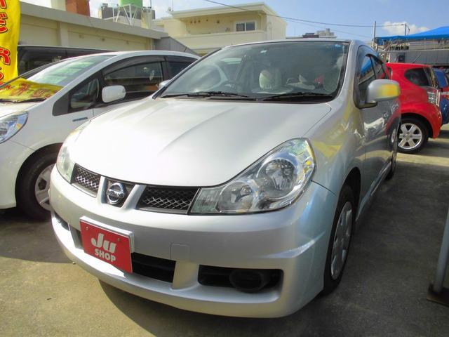 沖縄の中古車 日産 ウイングロード 車両価格 29万円 リ済込 2010(平成22)年 6.7万km シルバー