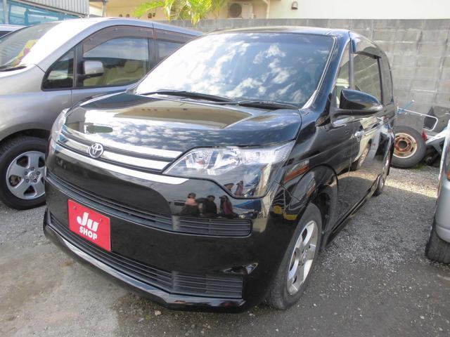 沖縄の中古車 トヨタ スペイド 車両価格 44万円 リ済込 2013(平成25)年 9.3万km ブラック