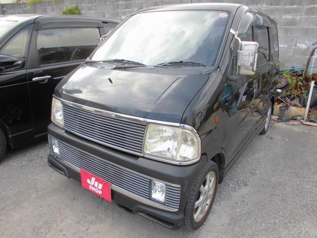 沖縄県石垣市の中古車ならアトレーワゴン エアロダウンビレットターボ