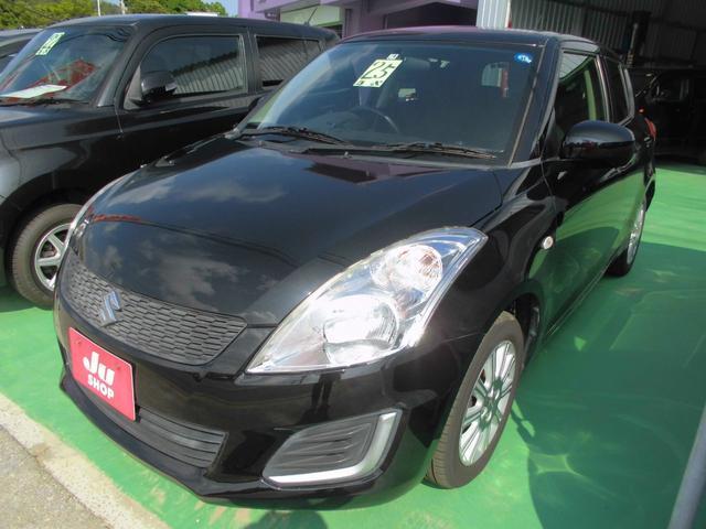 沖縄の中古車 スズキ スイフト 車両価格 39万円 リ済込 2013(平成25)年 8.7万km ブラック