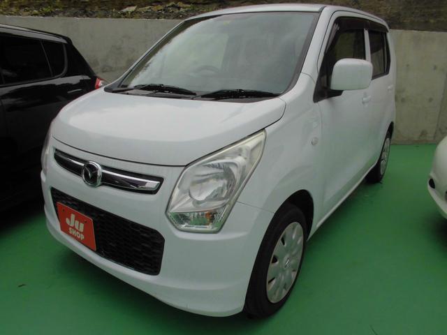 沖縄の中古車 マツダ フレア 車両価格 39万円 リ済込 2013(平成25)年 10.2万km ホワイト
