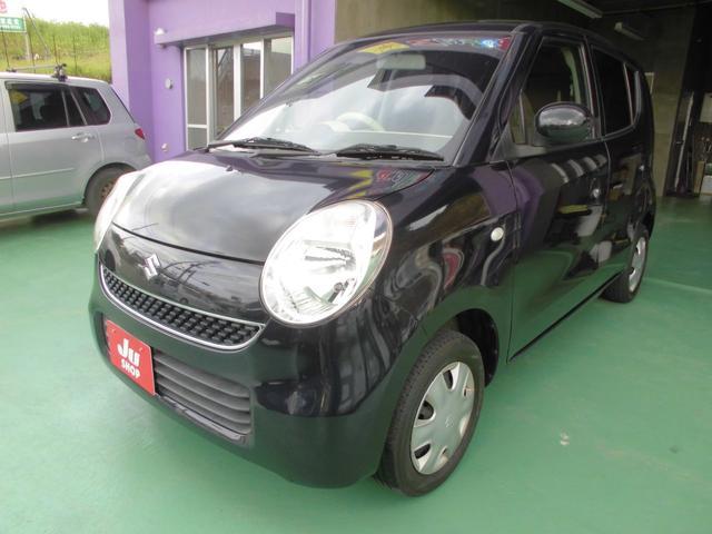 沖縄の中古車 スズキ MRワゴン 車両価格 22万円 リ済込 2009(平成21)年 9.7万km ブラック