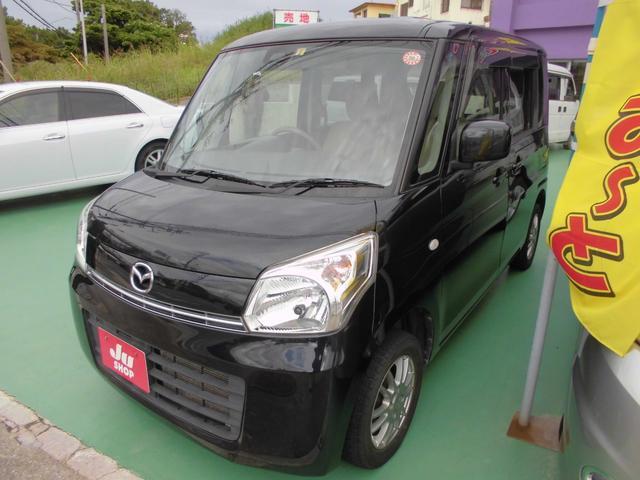 沖縄の中古車 マツダ フレアワゴン 車両価格 47万円 リ済込 2014(平成26)年 9.1万km ブラック