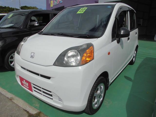 沖縄の中古車 ホンダ ライフ 車両価格 23万円 リ済込 2010(平成22)年 7.2万km ホワイト