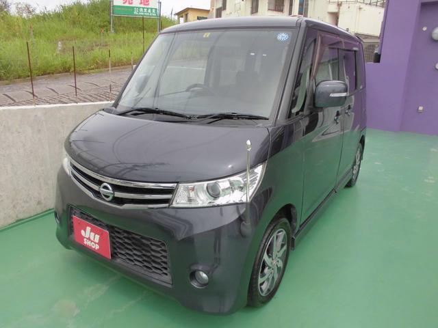 沖縄の中古車 日産 ルークス 車両価格 43万円 リ済込 2011(平成23)年 7.3万km グレー