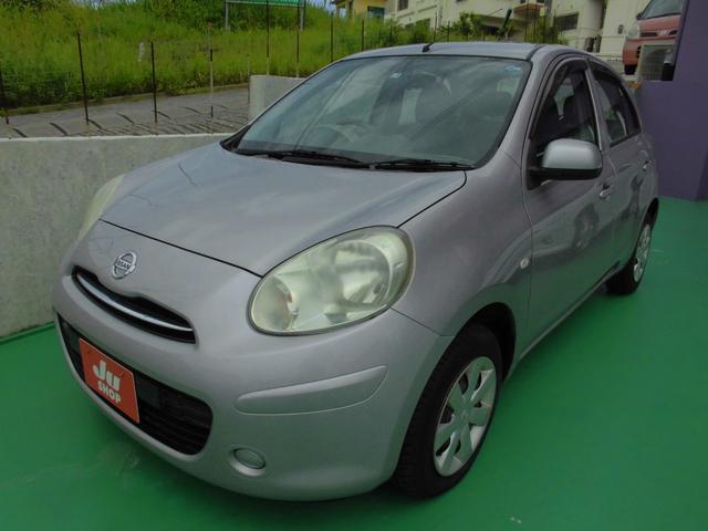 沖縄の中古車 日産 マーチ 車両価格 25万円 リ済込 2011(平成23)年 6.6万km ライトパープル