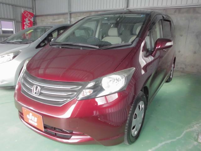 沖縄の中古車 ホンダ フリード 車両価格 35万円 リ済込 2010(平成22)年 11.2万km ワイン