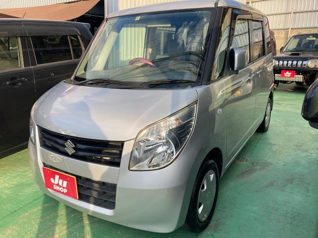 沖縄の中古車 スズキ パレット 車両価格 48万円 リ済込 2013(平成25)年 9.1万km シルバー