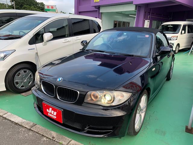 沖縄の中古車 BMW 1シリーズ 車両価格 64万円 リ済込 2010(平成22)年 8.9万km ブラック