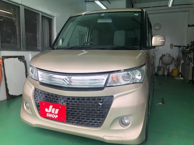 沖縄の中古車 スズキ パレットSW 車両価格 33万円 リ済込 2010(平成22)年 10.2万km ゴールド