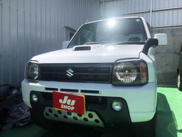 沖縄の中古車 スズキ ジムニー 車両価格 58万円 リ済込 2011(平成23)年 13.7万km ホワイト