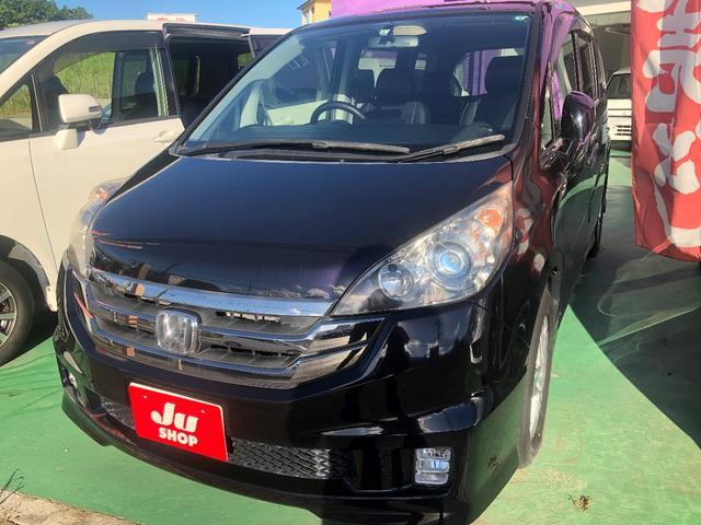 沖縄の中古車 ホンダ ステップワゴン 車両価格 44万円 リ済込 2009(平成21)年 11.8万km パープル