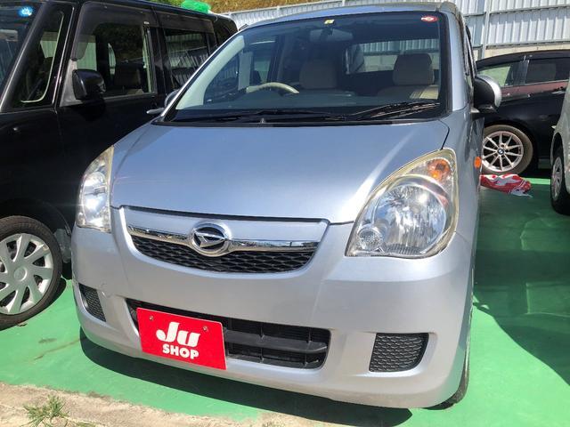 沖縄の中古車 ダイハツ ミラ 車両価格 16万円 リ済込 2010(平成22)年 10.8万km シルバー