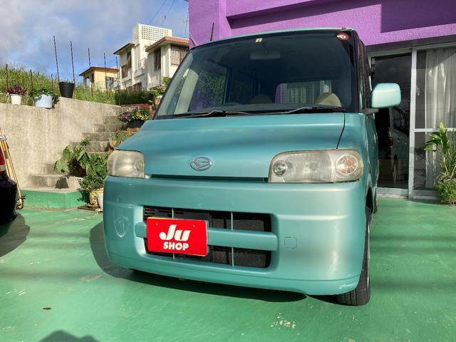 沖縄の中古車 ダイハツ タント 車両価格 3万円 リ済込 2004(平成16)年 18.0万km Lグリーン