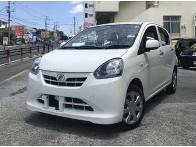 沖縄の中古車 ダイハツ ミライース 車両価格 29万円 リ済込 平成25年 11.3万km ホワイト