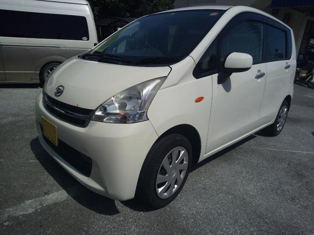 沖縄の中古車 ダイハツ ムーヴ 車両価格 39万円 リ済込 2012(平成24)年 8.2万km ホワイト