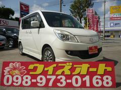 沖縄の中古車 スズキ ソリオ 車両価格 68万円 リ済込 平成23年 1.6万K パールホワイト