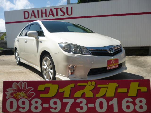 沖縄の中古車 トヨタ SAI 車両価格 98万円 リ済込 平成23年 9.6万km パールホワイト
