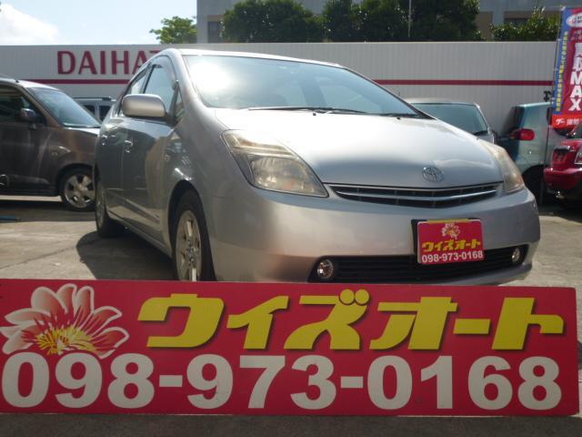 沖縄の中古車 トヨタ プリウス 車両価格 45万円 リ済込 2007(平成19)年 11.9万km シルバー