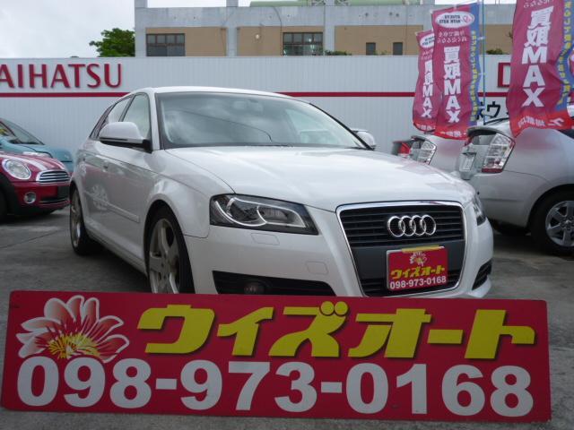 沖縄県の中古車ならアウディ A3 スポーツバック1.4TFSIナビ・バックカメラ