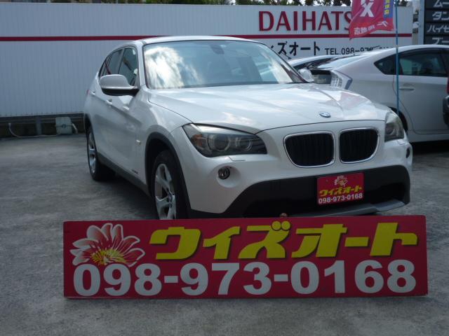 沖縄の中古車 BMW X1 車両価格 65万円 リ済込 2010(平成22)年 6.9万km ホワイト