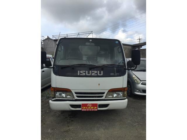 うるま市 琉球ウィズオート -沖縄 車買取MAX- いすゞ エルフトラック ダンプ ホワイト 7.2万km 1994(平成6)年