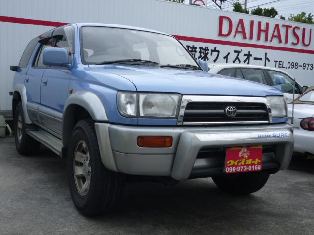トヨタ ハイラックスサーフ SSR-X ディーゼルターボ
