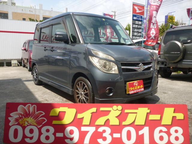 沖縄の中古車 スズキ パレット 車両価格 32万円 リ済込 2008(平成20)年 9.7万km グレー