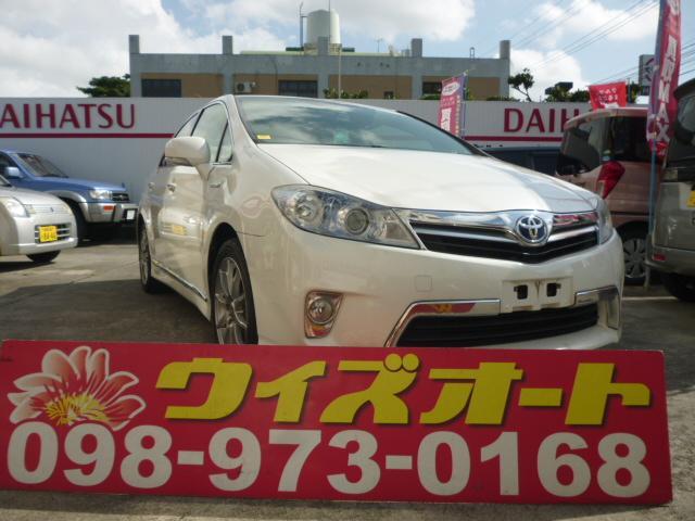 沖縄の中古車 トヨタ SAI 車両価格 78万円 リ済込 2012(平成24)年 11.6万km パールホワイト