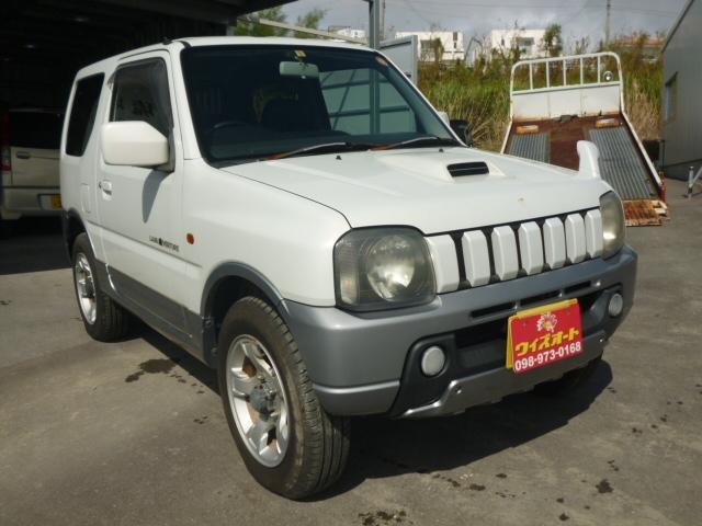 沖縄の中古車 スズキ ジムニー 車両価格 32万円 リ済込 2003(平成15)年 13.9万km ホワイト